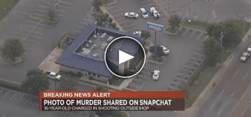 Horror as Teen Sends Snapchat Pic of Victim He Allegedly